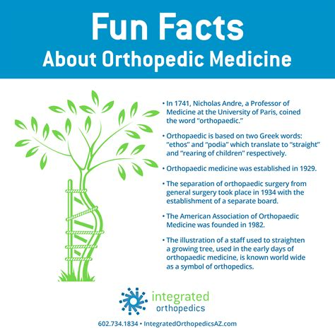facts about orthopedic medicine integrated orthopedics