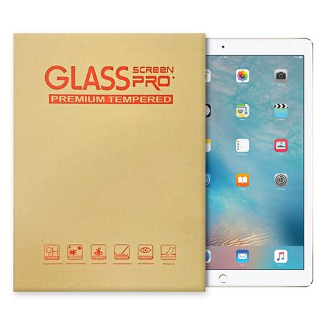 Pro 12 9 Tempered Glass Screen Protector An Diskon tempered glass screen protector apple pro 12 9 quot