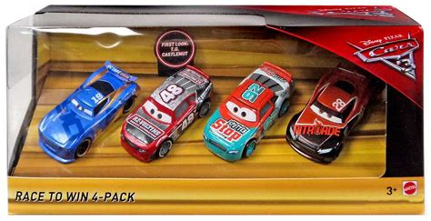 Diecast Mattel Mini Racers Cars 3 Wave 3 No 29 Florida Ramone Pink disney cars cars 3 race to win exclusive 155 diecast car 4 pack t g castlenut murray