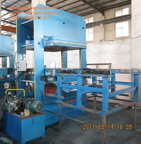 rubber st machine suppliers rubber tiles vulcanizing press xlb d550x550x4 xiangjie