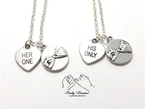 promise necklace for him and birthday