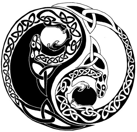 tattoo yin yang tribal yin yang images designs