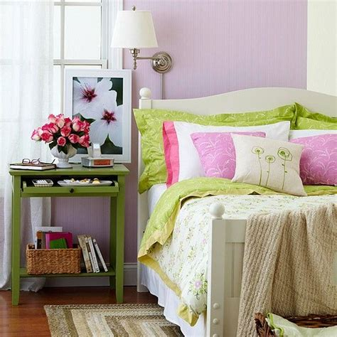 bedroom light purple and green color inspiration for the