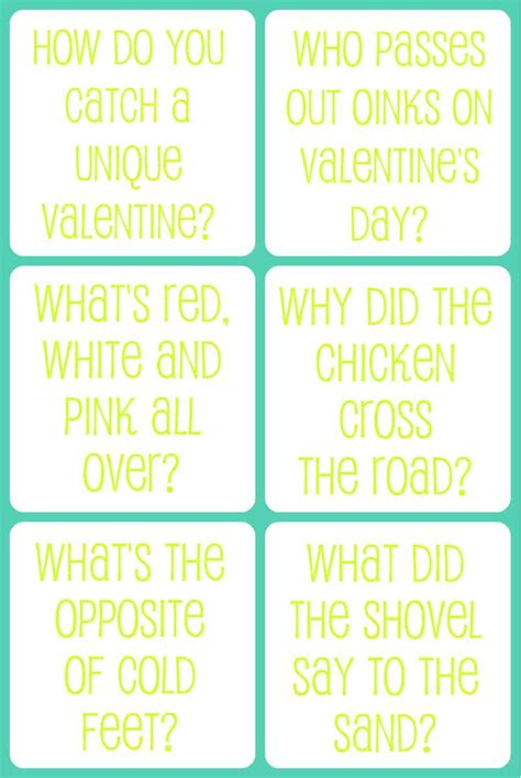 valentines day insults s day printable jokes for the gunny sack