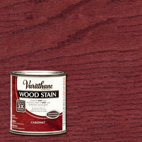 varathane 1 qt cabernet premium wood stain 2 pack