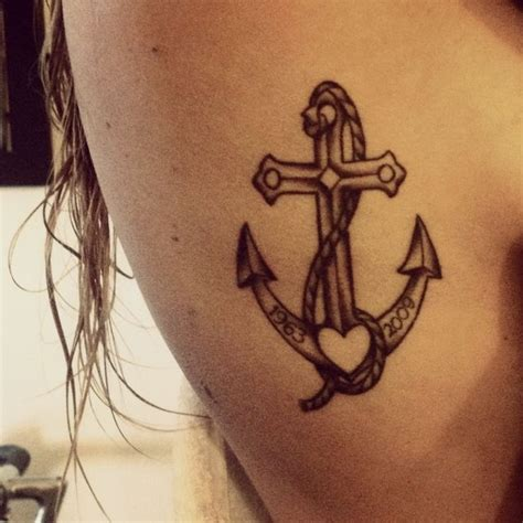 heart cross anchor tattoo best 25 anchor ideas on anchor