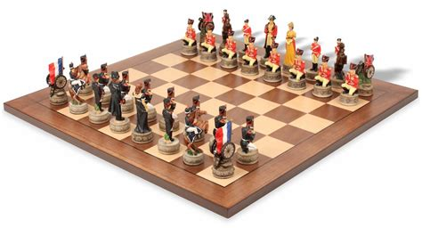theme chess sets battle of waterloo theme chess set package the chess store