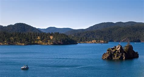 Pactola Lake Cabins by Pin Large Brown Trout On