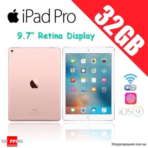 Pro Wifi 32gb 9 7 Inch apple pro 32gb 9 7 inches wi fi tablet gold