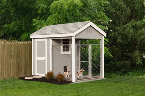 Barn Style Shed Dog Kennels And Dog Houses At Riehl Quality Storage Barns