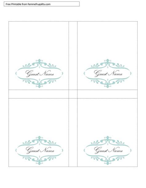 Free Tent Place Cards Template by Free Printable Table Tents Template Brokeasshome