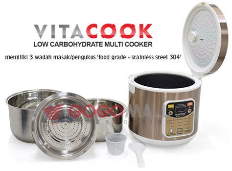 alat dan bahan membuat bubur kacang hijau vitacook healthy smart multi cooker alat masak modern