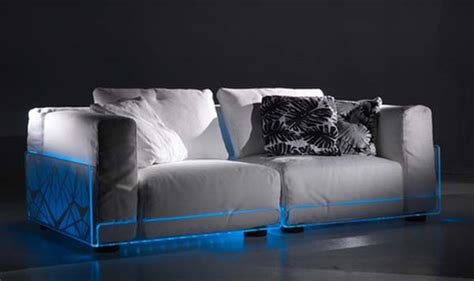 couch lights modern lighting sofa for home theater rooms