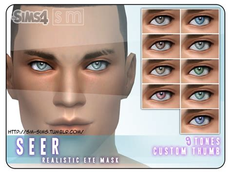 sims 4 realistic eyes the sims 4 custom content realistic eye mask