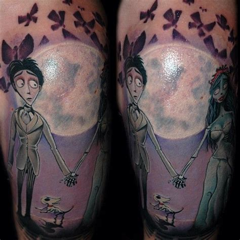 corpse bride tattoo 53 awesome corpse tattoos