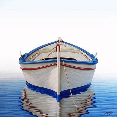 greek boat painting  horacio cardozo