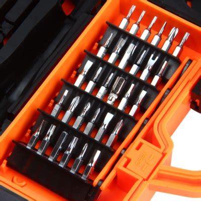 Jakemy 45 In 1 Precision Screwdriver Repair Tool Box Ki Murah Jakemy 45 In 1 Precision Screwdriver Repair Tool Kit Jm