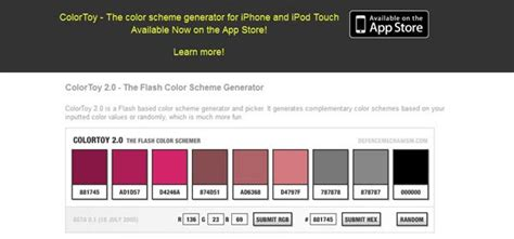 complementary colors generator interesting and useful color scheme generators 25 tools