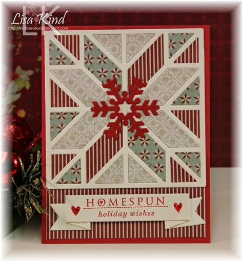 lisas holiday red punch 17 best images about quilt cards on handmade cards embossing folder and punch