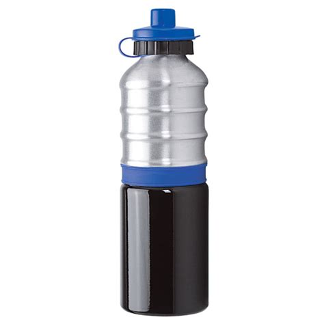 custom 25 oz pba free aluminum water bottle with sipper