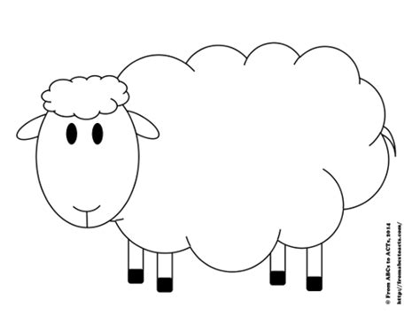 counting sheep printable counting activity