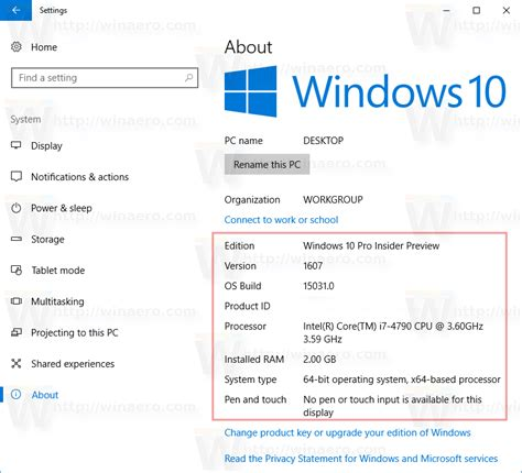 Find Information About How To See System Information In Windows 10