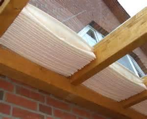 beschattung terrasse glasdach sonnensegel 171 61x330 cm 187 uni wei 223 faltsonnensegel