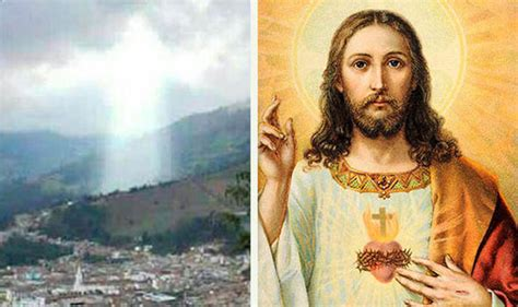 image of christ project blue beam jesus christ appears after deadly