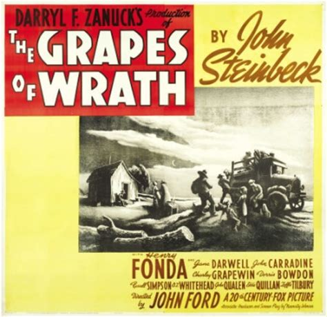grapes of wrath film themes imaging a daunting journey the rockwell center for
