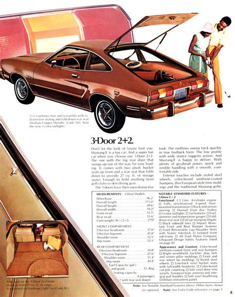 all car manuals free 1974 ford mustang navigation system directory index ford mustang 1974 ford mus 1974 ford mustang ii brochure