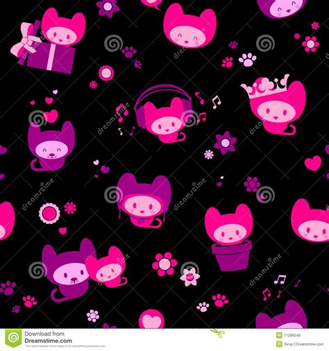 wallpaper black cute cute black and pink wallpaper wallpapersafari