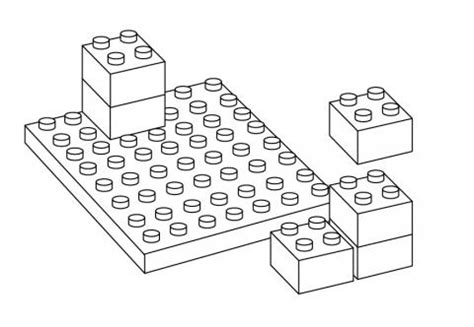 lego brick coloring page lego blocks teachers of india