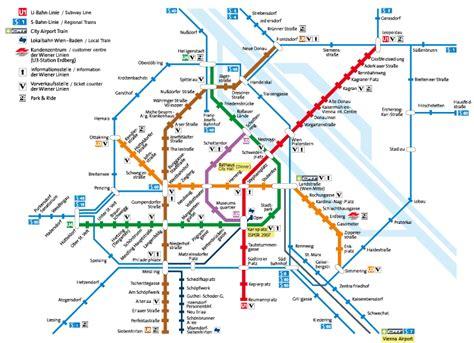 Lot Munchen 6 Kartu wien ubahn plan metro rapid transit and vienna
