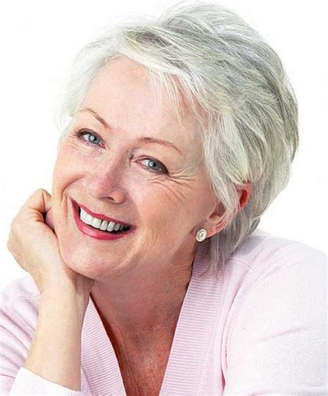 short hairstyles for gray haired women over 60 20 short haircuts for over 60 short hairstyles 2017