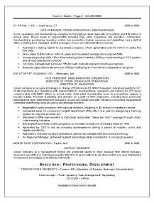 resume sle 13 sales marketing resume career resumes