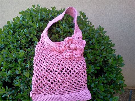 crochet pattern shopping tote mesh shopping bag crochet pattern easy crochet patterns