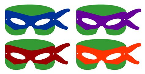 printable ninja mask 8 best images of ninja turtle template printable ninja