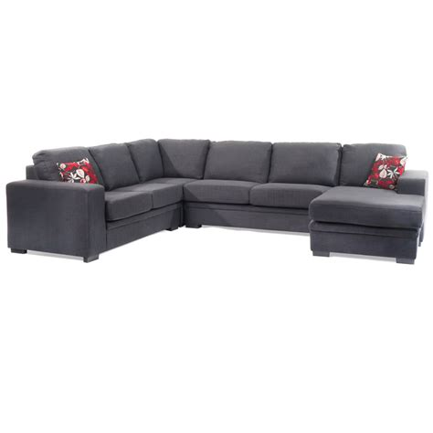 modular sofa with chaise nova 6 seater modular with chaise and sofa bed