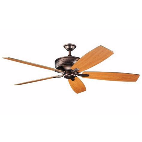 kichler 70 inch ceiling fan with five blades 300106obb - 70 Inch Ceiling Fan
