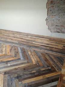 Pallet Board Flooring by Pallet Floor Get Your Craft On