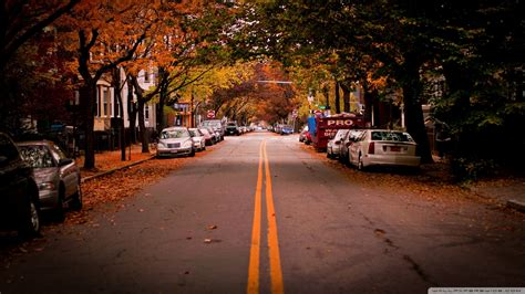 america towns american town autumn wallpaper 1920x1080