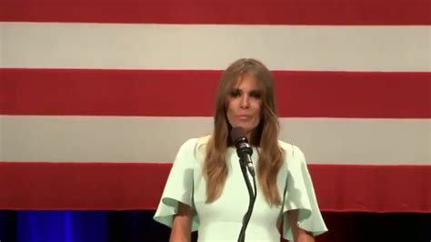 donald trump youtube channel melania trump speaks at donald trump rally in milwaukee