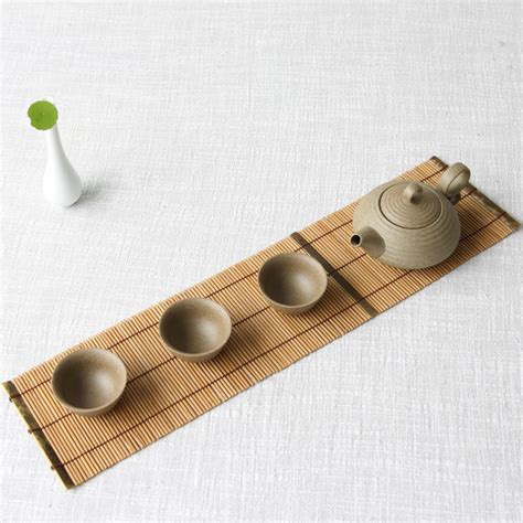 Handmade Mat - aliexpress buy bamboo placemats rectangle handmade