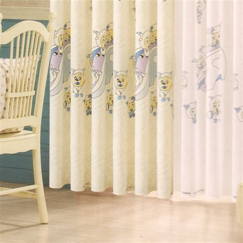 Animal Curtains For Nursery Thenurseries Nursery Curtain Material