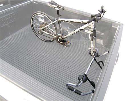 truck bed bike rack etrailer com