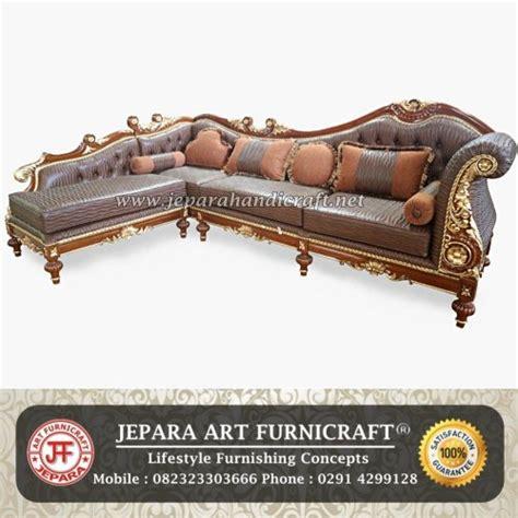 Sofa Sudut Oscar jual sofa tamu sudut cleopatra harga murah berkualitas