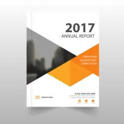 cover page for report template report template with geometric shapes vector free
