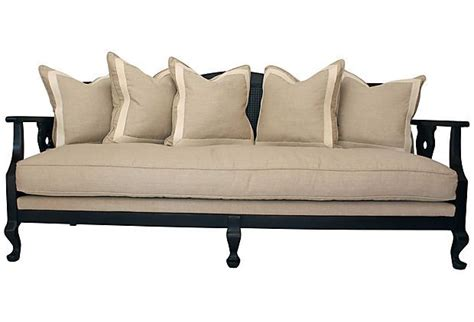 couch cane cane back sofa