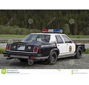 Old Police Car Stock Photo  Image 43718222