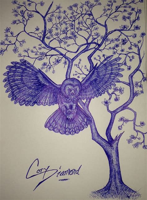 owl tree tattoo designs owl tree design take 3 ink
